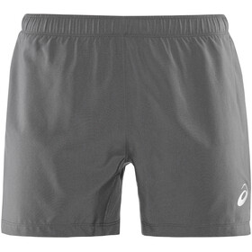 "asics Silver 5"" Shorts Men Dark Grey"